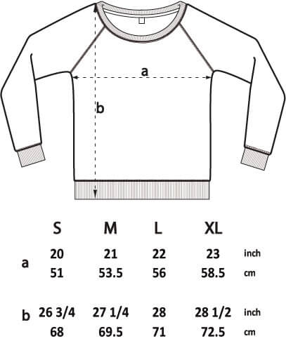 dakota-rae-dust-sweatshirt-size-guide